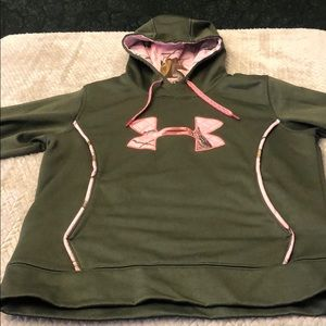 Under Armor Storm Camouflage Hooded Sweatshirt